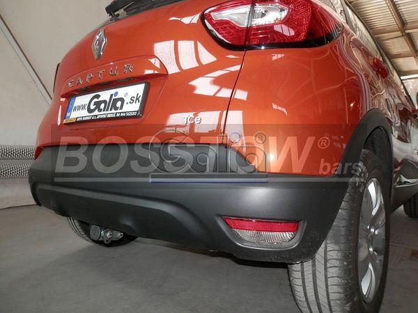 Anhängerkupplung für Renault-Captur - 2013-2019 Ausf.:  horizontal