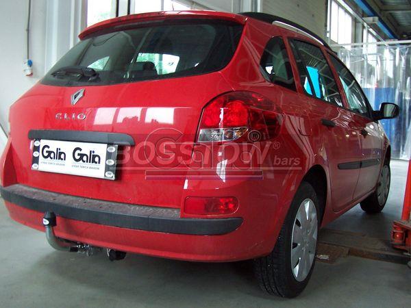 Anhängerkupplung für Renault-Clio - 2009-2013 III Kombi Ausf.:  horizontal