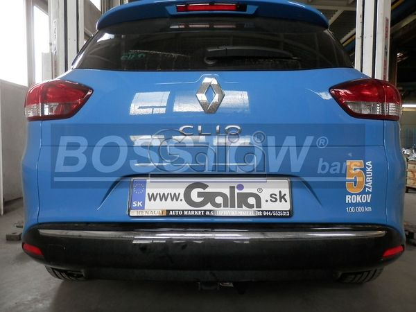 Anhängerkupplung für Renault-Clio - 2013-2016 IV Kombi Ausf.:  horizontal