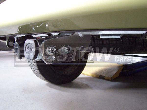 Anhängerkupplung für Renault-Kangoo I - 1997-1998 nicht 4x4 Ausf.:  horizontal