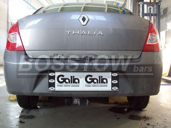 Anhängerkupplung für Renault-Thalia - 1999- Stufenheck Ausf.:  horizontal