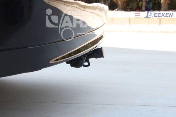 Anhängerkupplung für Saab-9-3 - 2002- Limousine Sport Ausf.:  horizontal
