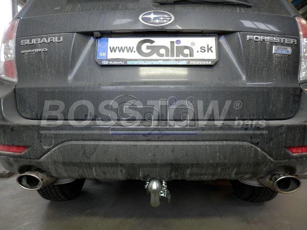 Anhängerkupplung für Subaru-Forester - 2008-2012 Ausf.:  horizontal