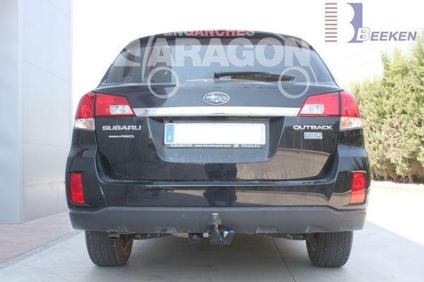 Anhängerkupplung Subaru-Outback Outback, Kombi, BM, BR, Baujahr 2009-2014