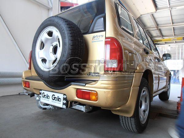 Anhängerkupplung für Suzuki-Grand Vitara - 1998-2004 3-türig nicht Cabrio, nicht XL- 7 Ausf.:  horizontal