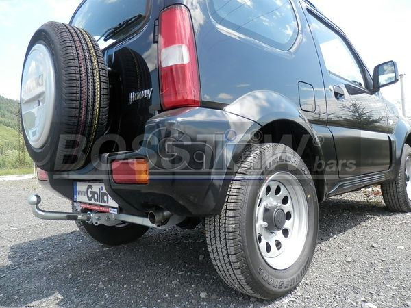 Anhängerkupplung Suzuki-Jimny - 2001-,
