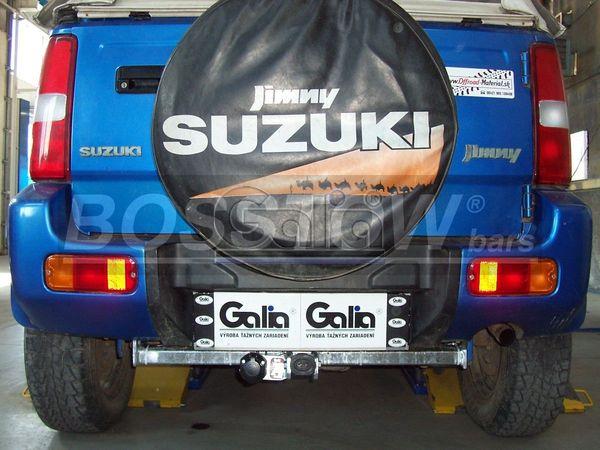 Anhängerkupplung für Suzuki-Jimny - 1998-2017 Cabrio Ausf.:  horizontal