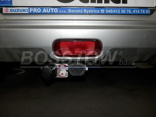 Anhängerkupplung für Suzuki-Splash - 2008- Ausf.:  horizontal