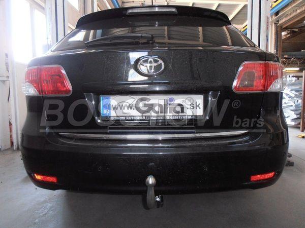 Anhängerkupplung für Toyota-Avensis - 2009-2015 T27, Kombi Ausf.:  horizontal