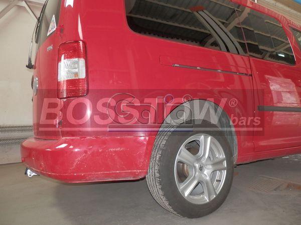 Anhängerkupplung für VW-Caddy - 2008-2015 Allrad, 4x4 Ausf.:  horizontal