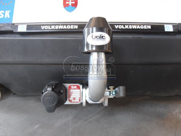 Anhängerkupplung für VW-Golf - 2003- V, Limousine, nicht 4x4 Ausf.:  horizontal