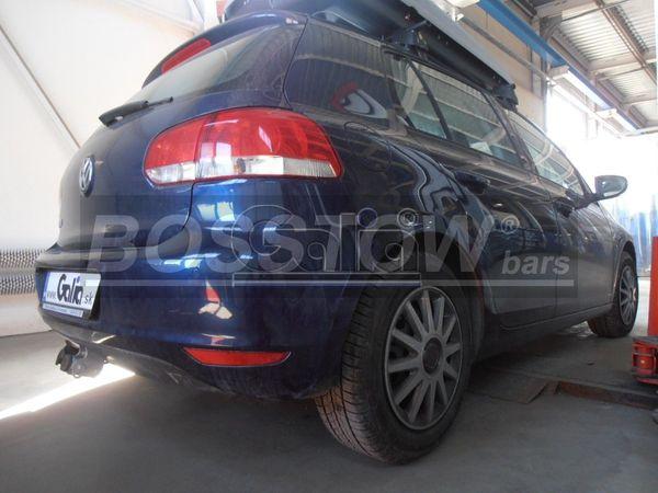 Anhängerkupplung für VW-Golf - 2008- VI Plus Ausf.:  horizontal
