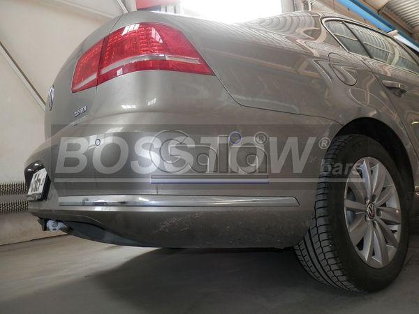 Anhängerkupplung für VW-Passat - 2012-2014 3c, spez. Alltrack Variant Ausf.:  horizontal