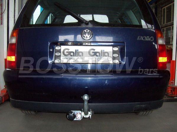 Anhängerkupplung für VW-Polo - 1999- (6KV)Lim, Stufenheck, Classic Ausf.:  horizontal