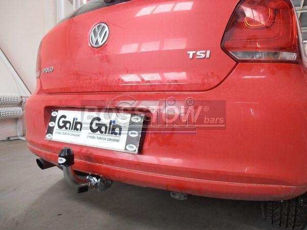 Anhängerkupplung VW-Polo (6C)GTI, Baujahr 2014-2017
