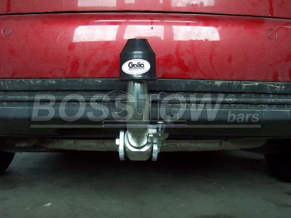 Anhängerkupplung für VW-Touran - 2010-2015 Van, spez. 7 Sitzer m. Erdgas(Ecofuel) Ausf.:  horizontal