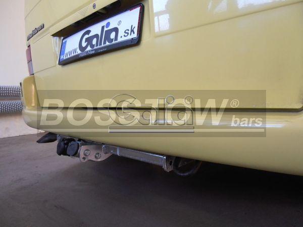 Anhängerkupplung für VW-Transporter - 1996-1998 T4, Kasten Bus inkl. Caravelle Multivan, nicht Syncro Ausf.:  horizontal