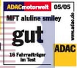 MULTI-cargo ALULINE black-smiley-Alu, f. 2 Fahrräder