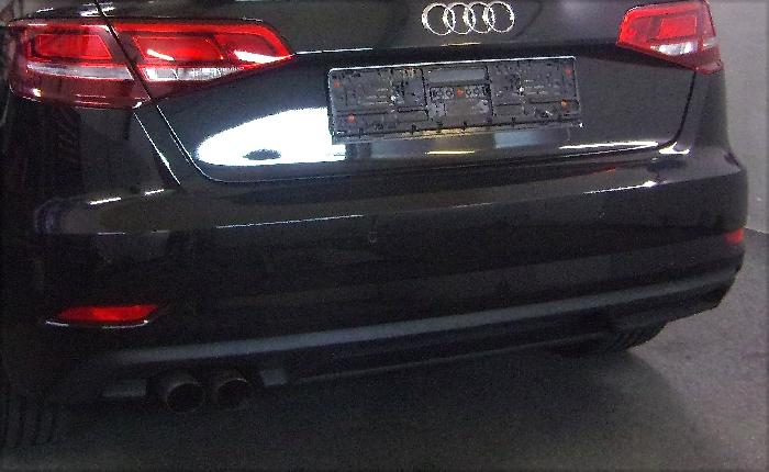 Anhängerkupplung Audi-A3 3-Türer, Baujahr 2012-2014