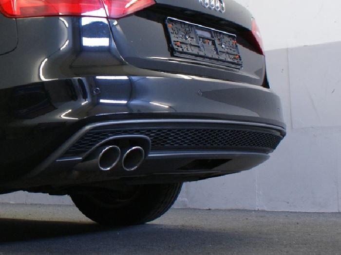 Anhängerkupplung für Audi-A4 Avant - 2012-2015 nicht Quattro, nicht RS4 und S4, speziell S-Line Ausf.:  vertikal