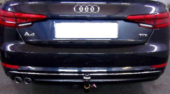 Anhängerkupplung für Audi-A4 Limousine - 2015- nicht Quattro, nicht RS4 und S4 Ausf.:  vertikal