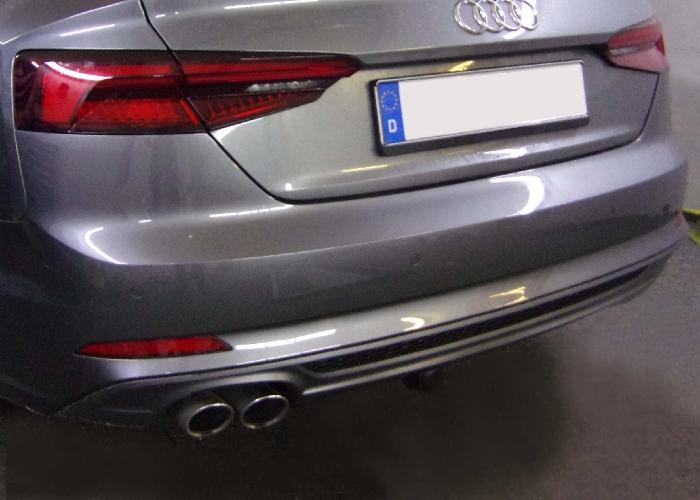 Anhängerkupplung für Audi-A5 - 2017- Cabrio Ausf.:  vertikal