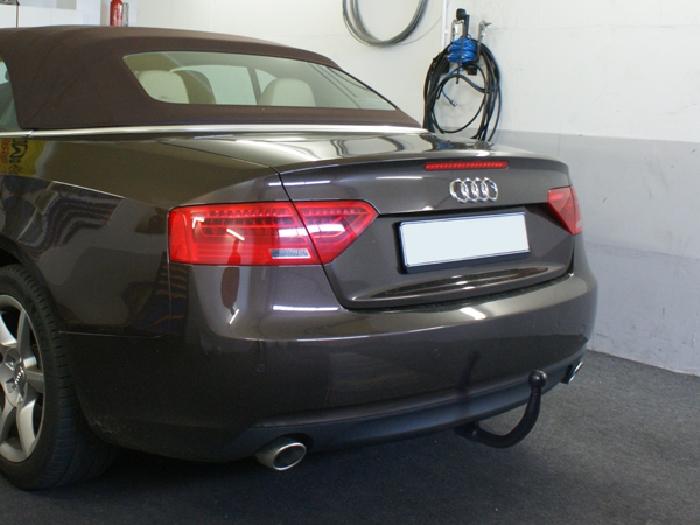 Anhängerkupplung für Audi-A4 Avant - 2008-2015 Quattro, incl. S4 Ausf.:  vertikal