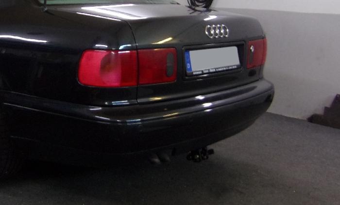 Anhängerkupplung für Audi-A8 - 1999-2002 D2, 4D Ausf.:  horizontal