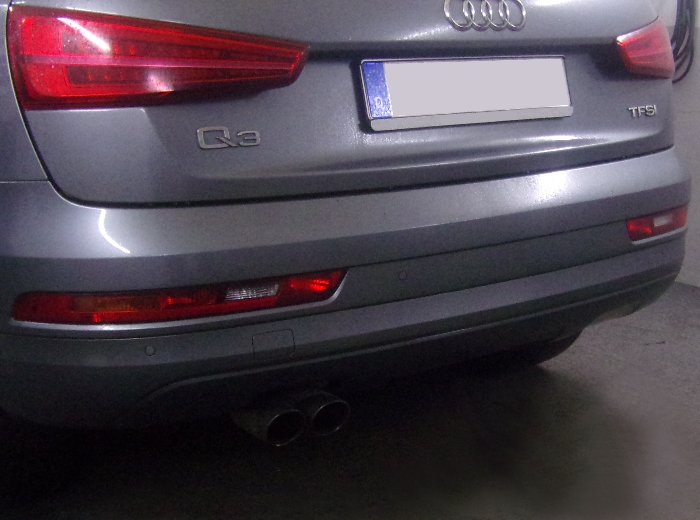 Anhängerkupplung Audi-Q3 - 2011-2018,