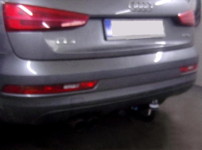 Anhängerkupplung für Audi-Q3 - 2011-2018 Ausf.:  vertikal