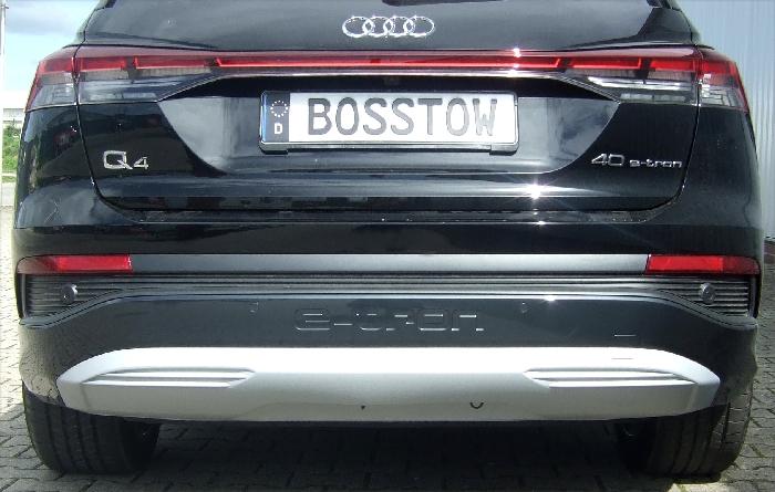 Anhängerkupplung Audi-Q4 E-tron, Fahrzeuge mit Anhängelastfreigabe, Baujahr 2020-