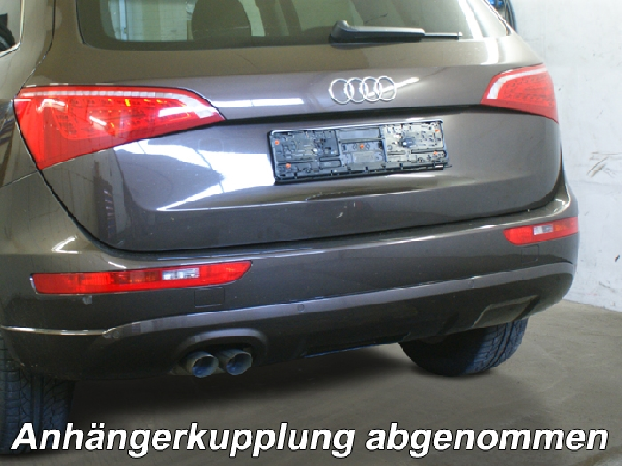Anhängerkupplung Audi-Q5 - 2008-2016 Ausf.:  vertikal