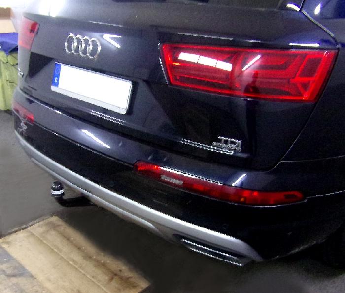 Anhängerkupplung Audi-Q7 - 2015-,