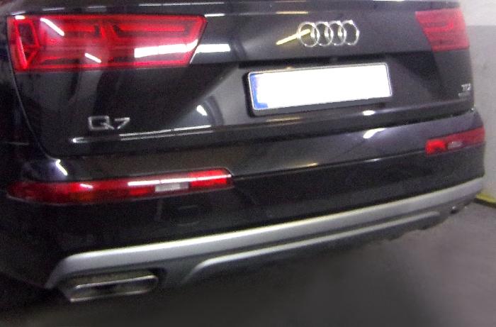 Anhängerkupplung Audi-Q7 - 2015- Ausf.:  vertikal