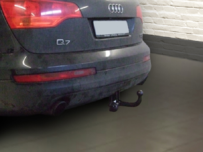 Anhängerkupplung für Audi-Q7 - 2006-2015 Ausf.:  feststehend
