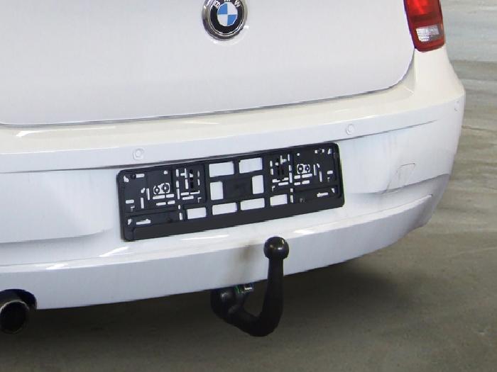 Anhängerkupplung für BMW-1er - 2011-2014 F20 Ausf.:  vertikal
