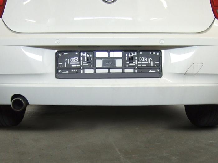 Anhängerkupplung BMW 1er F20, Baureihe 2011-2014  vertikal