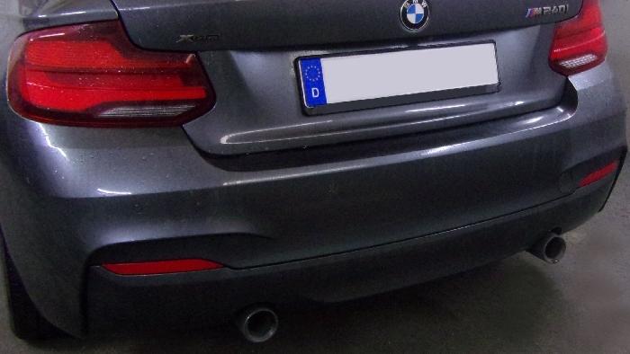 Anhängerkupplung BMW-2er F22 Coupe, speziell M240i xDrive, nur für Heckträgerbetrieb, Montage nur bei uns im Haus, Baujahr 2016-