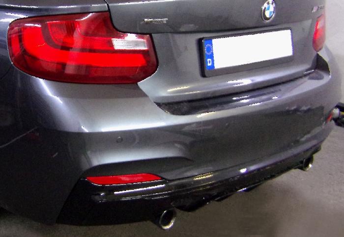 Anhängerkupplung für BMW-2er F23 Cabrio, speziell M235i xDrive nur für Heckträgerbetrieb, Baujahr 2014-2016