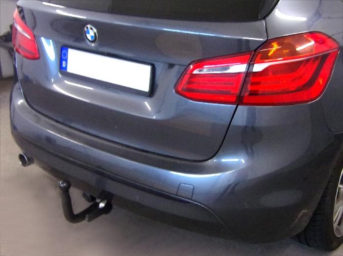 Anhängerkupplung BMW-2er F45 Active Tourer, spez. 225XE, nur für Heckträgerbetrieb, Baujahr 2015-