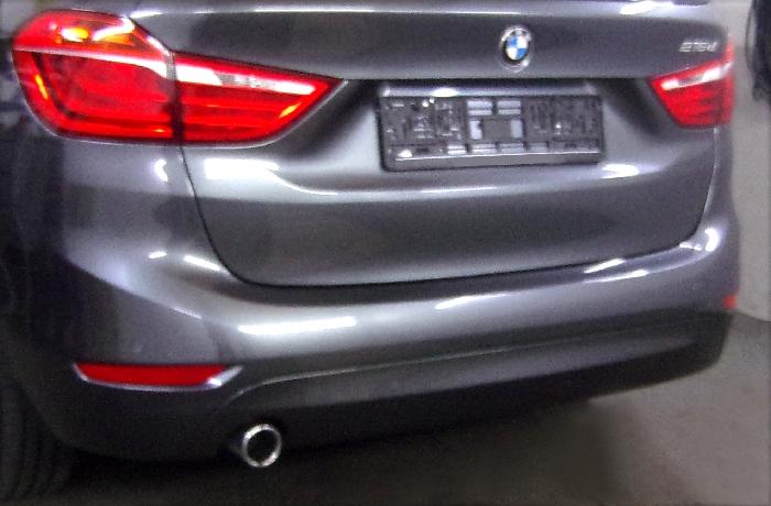 Anhängerkupplung für BMW-2er - 2015- F46 Gran Tourer Ausf.:  vertikal