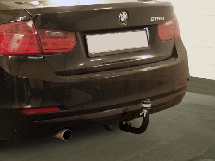 Anhängerkupplung für BMW-3er - 2014- Limousine F30 Ausf.:  vertikal