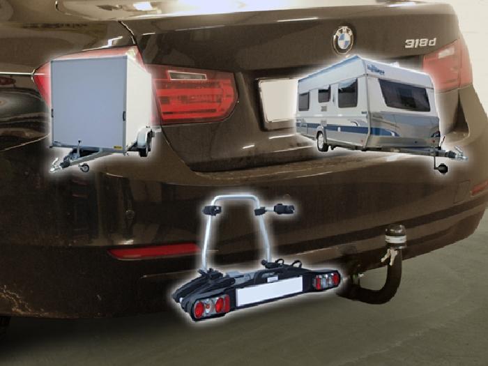 Anhängerkupplung für BMW-3er - 2012-2014 Limousine F30 Ausf.:  vertikal