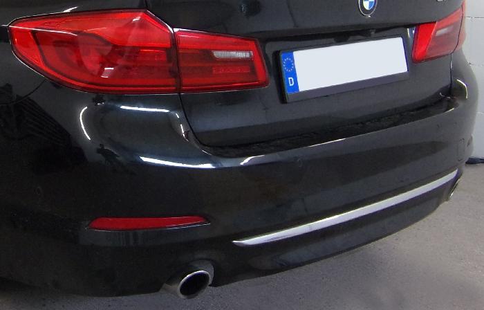 Anhängerkupplung BMW-5er Limousine G30, speziell 530e, nur für Heckträgerbetrieb, Baujahr 2017-2019