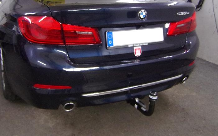 Anhängerkupplung BMW-5er Limousine G30, speziell 530e , nur für Heckträgerbetrieb, Baujahr 2017-