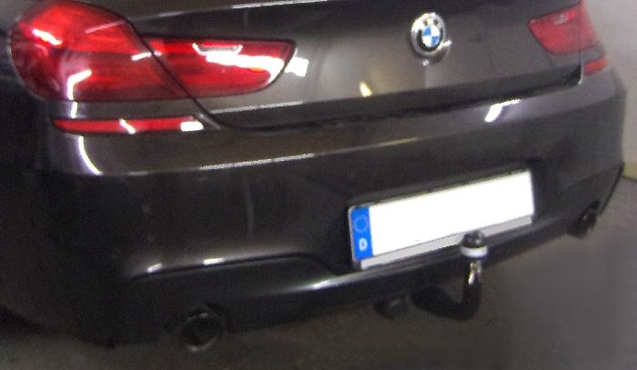 Anhängerkupplung für BMW-6er Cabrio F12 inkl. M- Sportpaket, Anhängelastfreigabe prüfen, ohne nur für Heckträgerbetrieb, Baujahr 2011-