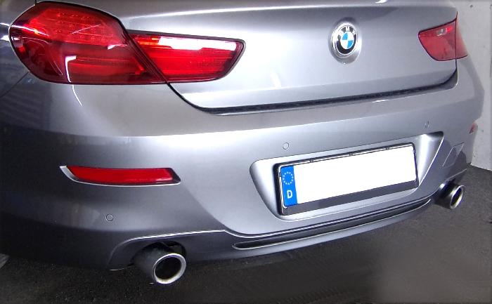 Anhängerkupplung BMW-6er Gran Coupe F06, Anhängelastfreigabe prüfen, ohne nur für Heckträgerbetrieb - 2015-