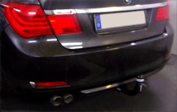 Anhängerkupplung für BMW-7er - 2009-2015 Limousine F01, F02 Ausf.:  vertikal