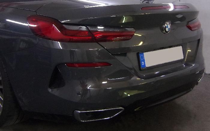 Anhängerkupplung für BMW-8er G14 Cabrio, nur für Heckträgerbetrieb, Montage nur bei uns im Haus, Baujahr 2019-