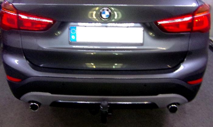 Anhängerkupplung BMW-X1 F48 Geländekombi - 2015-